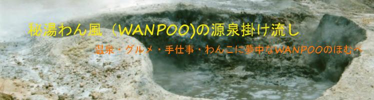 秘湯わん風(WANPOO)の源泉賭け流し